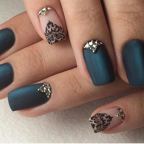 uñas acrilicas decoradas bellas
