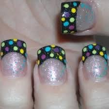 Uñas gel decoradas