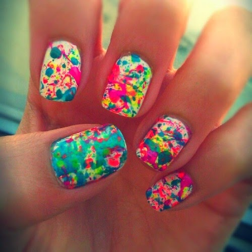 easy-watercolor-nail-designs-for-short-nails
