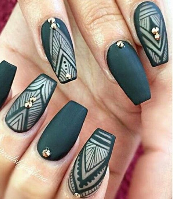 fotos de uñas decoradas ultima moda