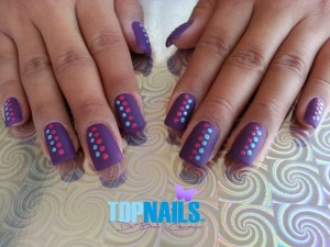 uñas acrilicas Acrylic Nails French topnails 28