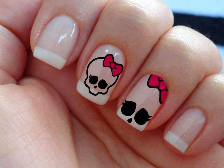 fotos de uñas decoradas facil y bonitas