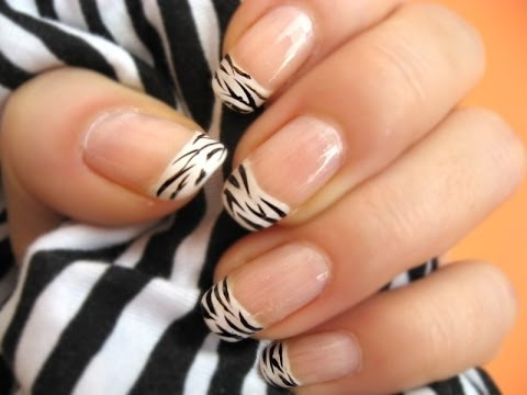 Fotos de uñas decoradas animal print