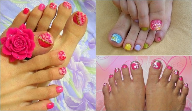 Fotos de uñas decoradas manos y pies