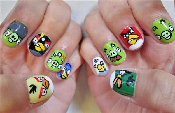 fotos de uñas decoradas
