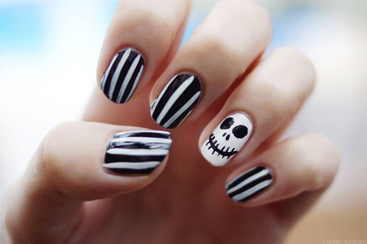 Fotos de uñas decoradas para halloween
