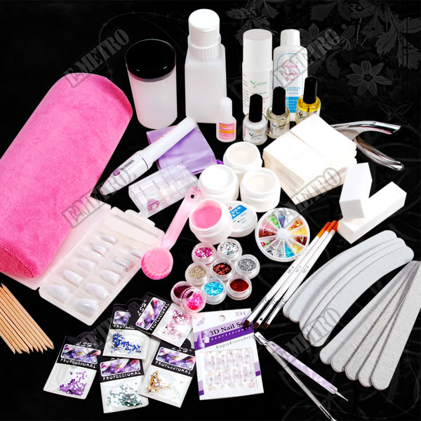 materiales para uñas de gel con lampara