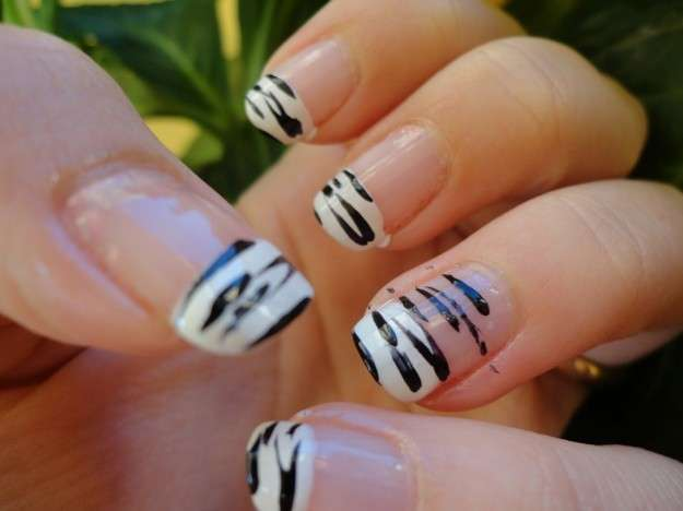 uñas decoradas cebra leopardo