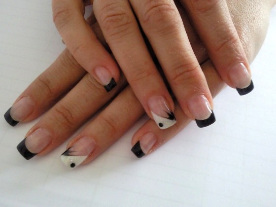fotos de uñas de gel decoradas 2014