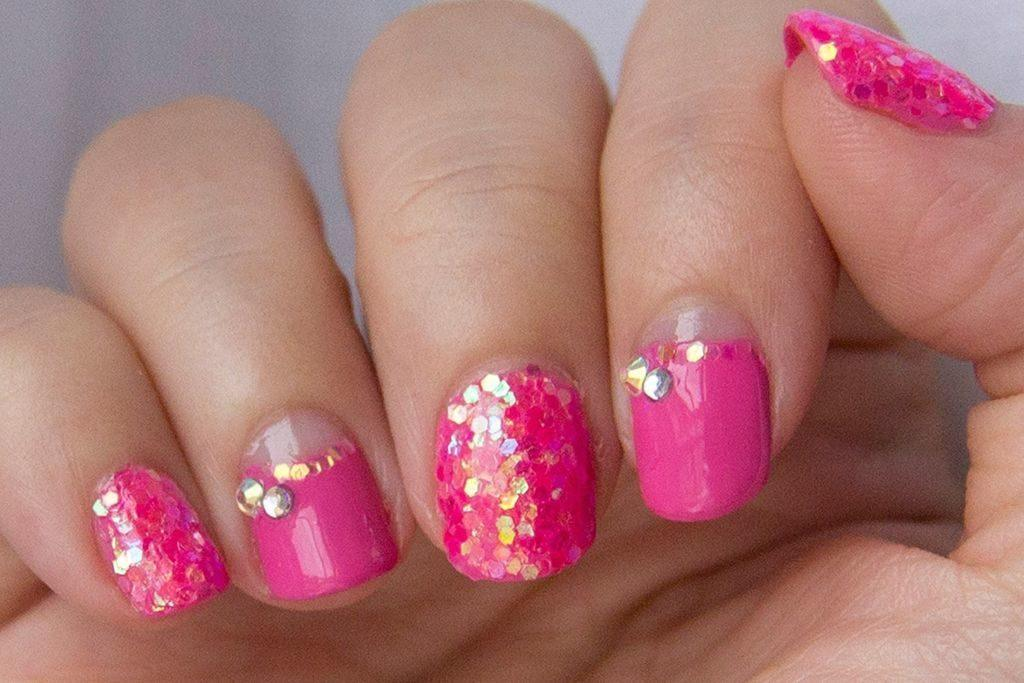 Uñas con brillo
